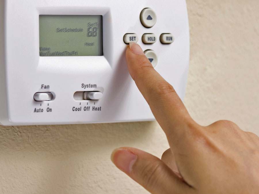Set heating timers