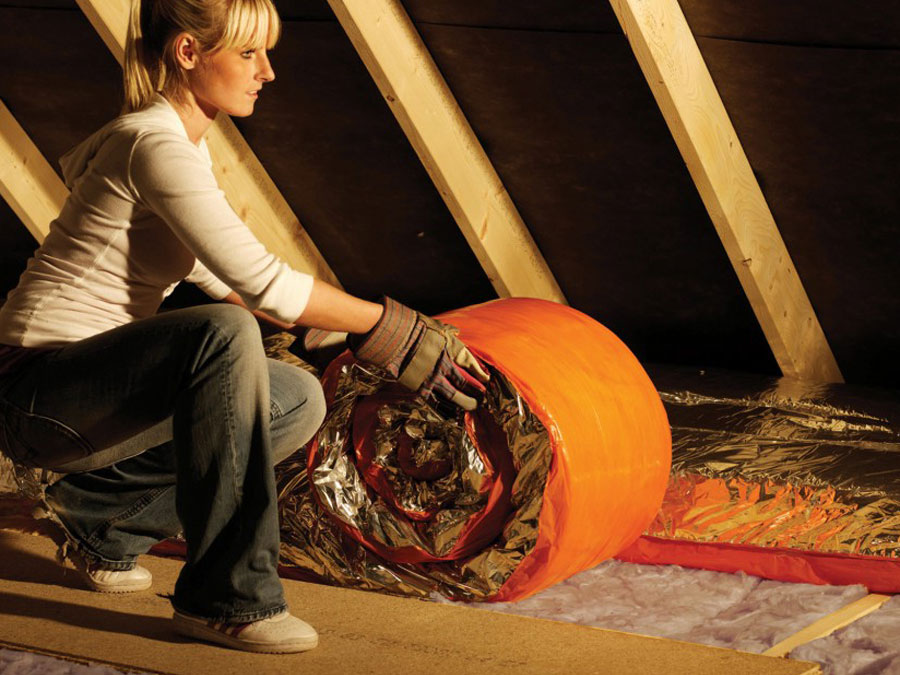 Top up old loft insulation