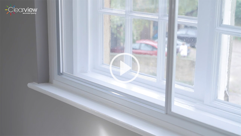 Clearview secondary glazing high performance secondary for How to reduce noise from windows