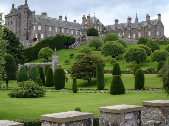 clearview-secondary-glazing-at-drummond-castle