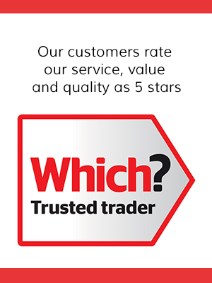 Image result for 5 star rating logo on which trusted trader