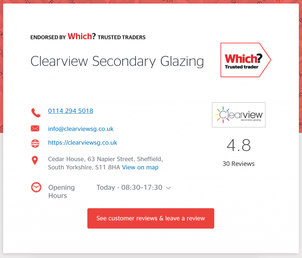 Clearview Why use Which? Trusted Traders?