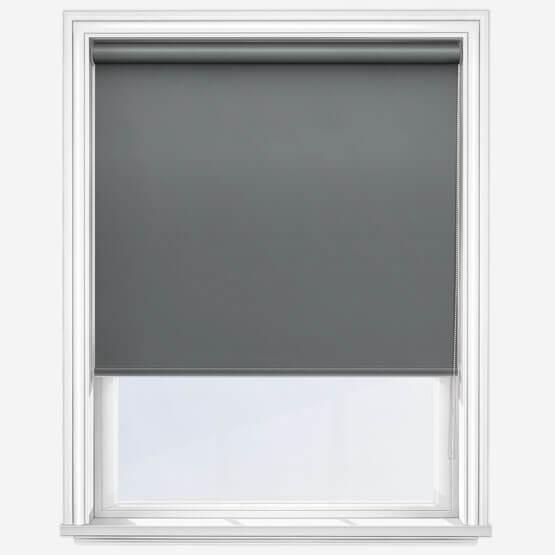 Clearview Roller Blind Dark Grey (1)
