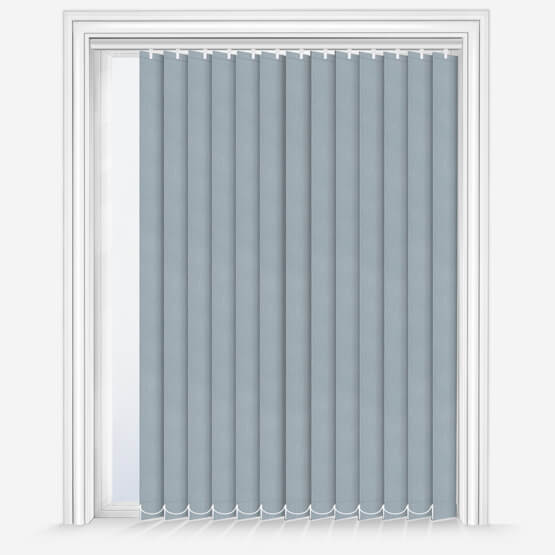 GB Fusion Blackout Light Grey Vertical Blinds