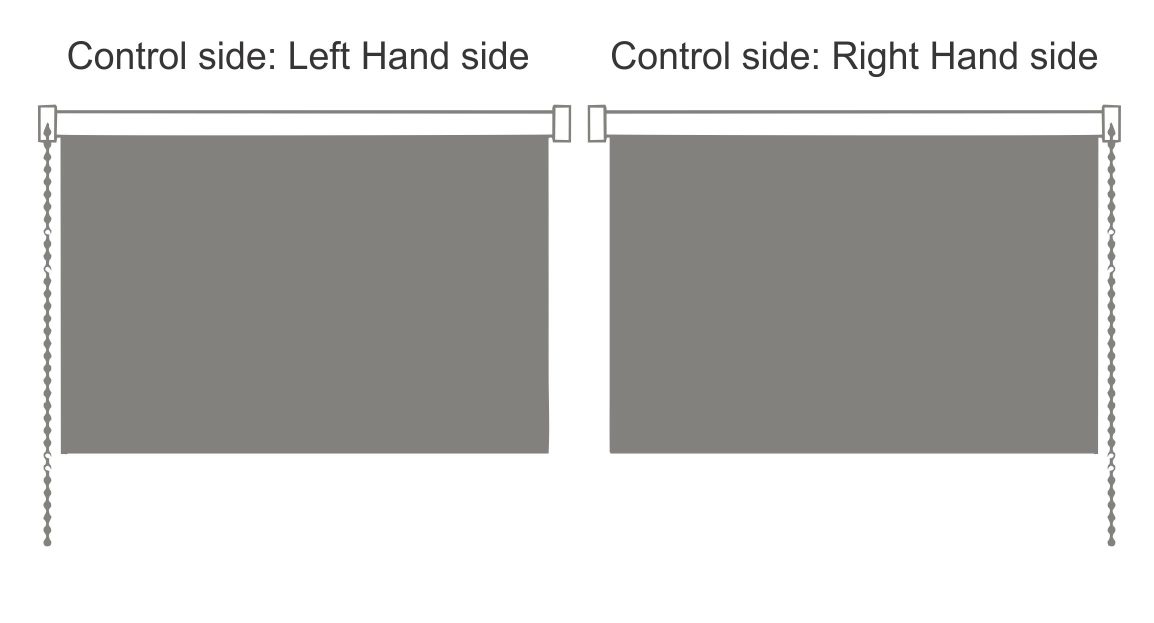 Roller Blind Control Side