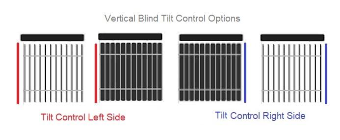 Vertical Blind Tilt Control