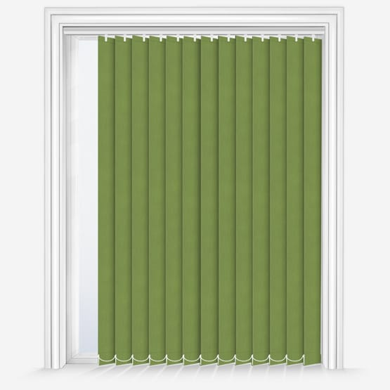 12. Fusion Green Vertical Blinds