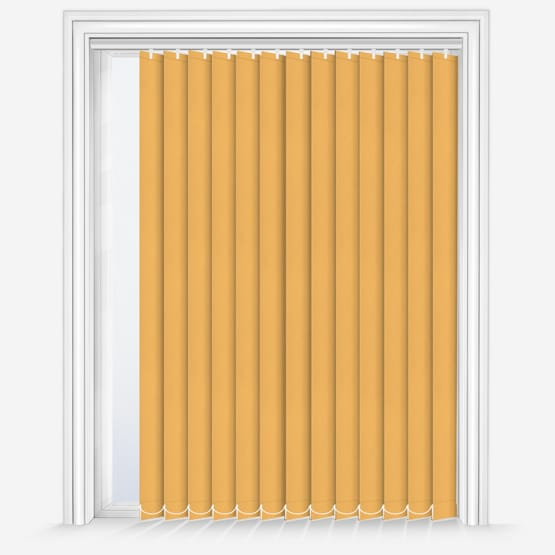 13. Fusion Yellow Vertical Blinds