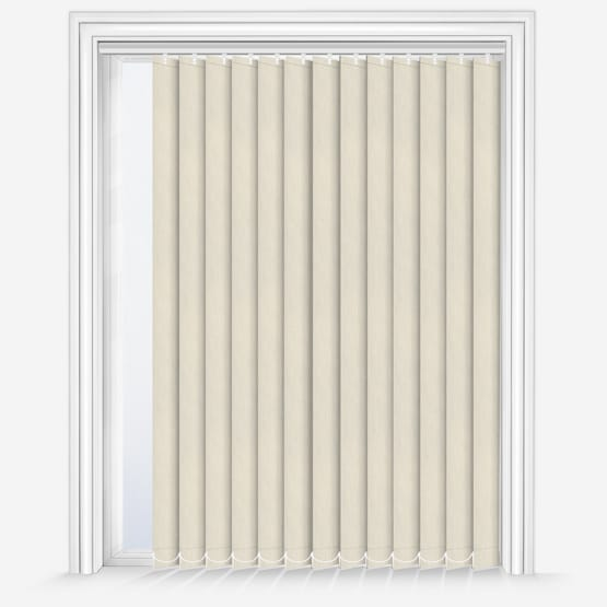2. Fusion Natural Vertical Blinds