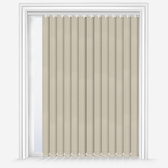 Elements Beige Vertical Blinds