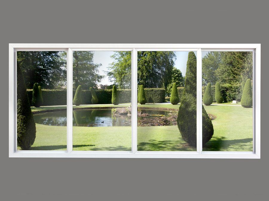 4 Panel Horizontal Slider